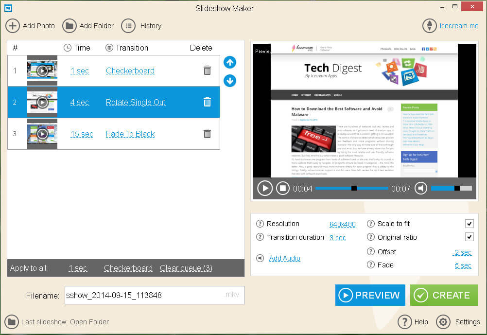 top 5 slideshow makers for windows   icecream tech digest