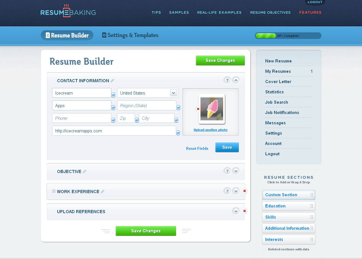 Real Free Resume Builder 22.06.2017