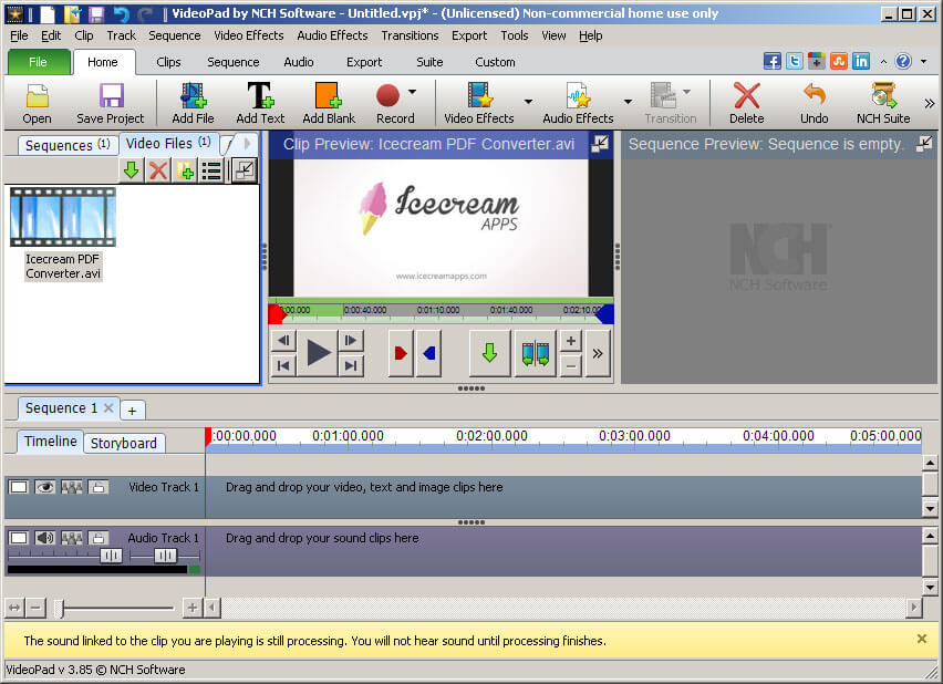 best free video editing software for windows icecream