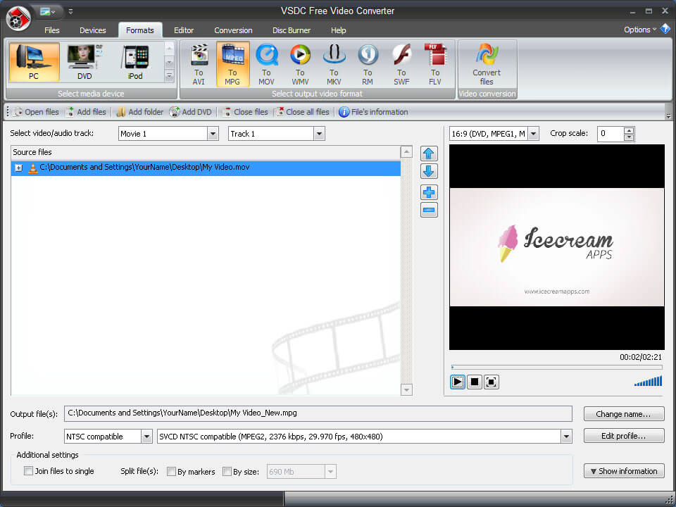 Alidvrs2 converter Windows 7