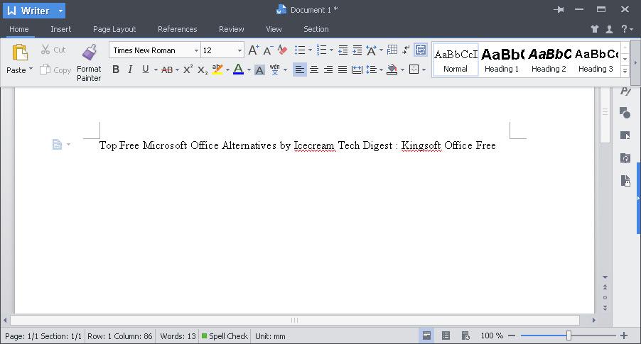 Top Free Microsoft Office Alternatives - Icecream Tech Digest