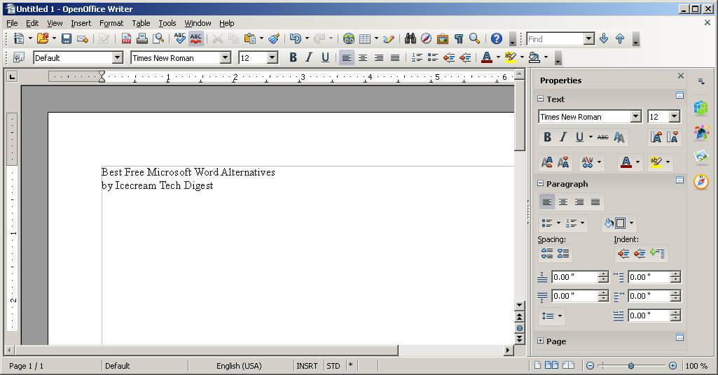 Best Free Microsoft Word Alternatives - Icecream Tech Digest
