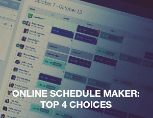 Online Schedule Maker: Top 4 Choices