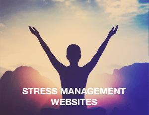 Stress Management Websites