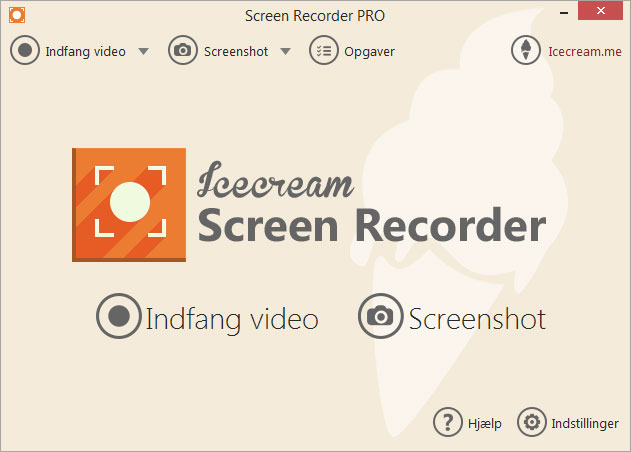Screen Recorder: optag skærm eller tag screenshots gratis - Icecream Apps