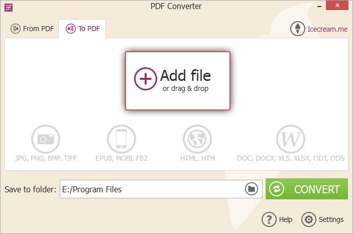 odt file converter software free