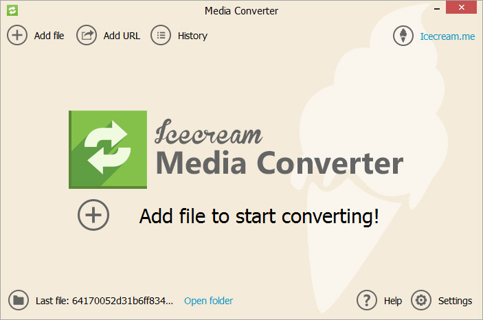 Click to view Icecream Media Converter screenshots