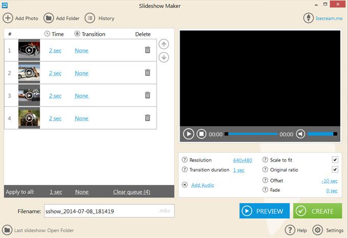 �������� ������ �������� ���� ����� ���� ����� IceCream Slideshow Maker 1.13