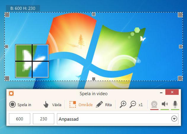 spela in skärmen windows 10 gratis