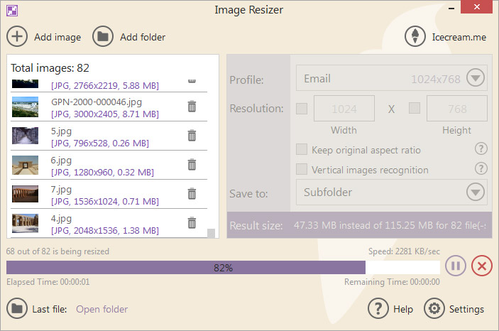 Fast <b>Image</b> <b>Resizer</b> - <b>Free</b> Download