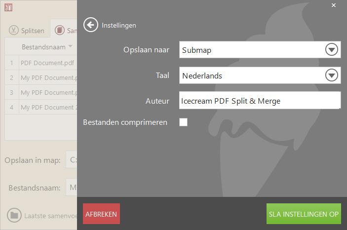 PDF Split & Merge: Split PDF En/of Voeg PDF-bestanden